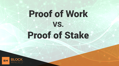 Proof Of Stake Proof of Work